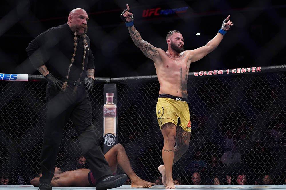 وكالة مكافحة المنشطات ( USADA ) تعلن عن إيقاف البرازيلي جون الآن الذي كان قد إنتصر على مايك رودريغيز في عرض ( #UFCSacramento ) الشهر الماضي بسبب تناوله المنشطات ، حيث سيواجه الآن الإيقاف بالإضافة إلى غرامة مالية ..
