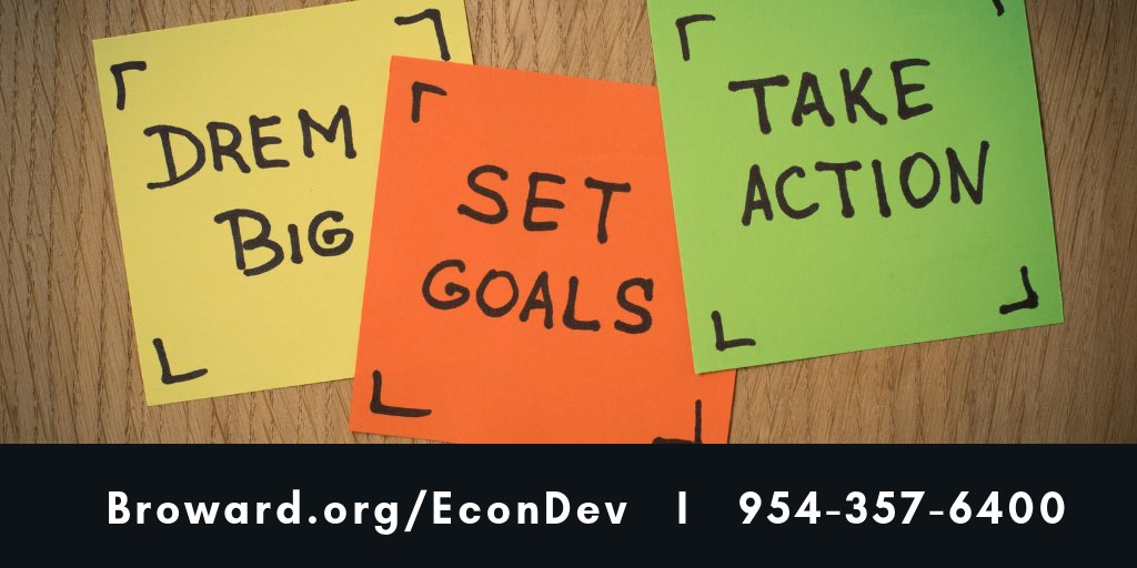 #BizTips: Clear goals and actionable steps can take your business to the next level. We can assist you; learn more about our NewVenture Entrepreneurship Program at:  http://www. broward.org/EconDev/Outrea ch/Pages/EducationalPrograms.aspx   …   #BrowardEntrepreneur<br>http://pic.twitter.com/IkBWnIXHZr