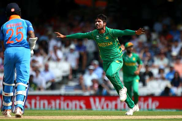 2017 Champions Trophy Final. @iamamirofficial rattled the Indian top-order and ensured there was no coming back from that. His figures of 6-2-16-3 helped Pakistan lift the 🏆 #EuroT20Slam #ET20S #InternationalLeftHandersDay