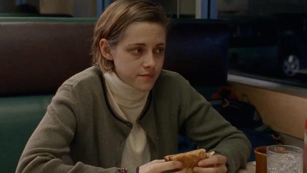 """""""You won't catch Stewart overacting. On screen, if she's eating a sandwich, she's eating a sandwich."""" - Vanity Fair article on #KristenStewart And that is EXACTLY why she is a great actress!<br>http://pic.twitter.com/ZxDTWHDNvV"""
