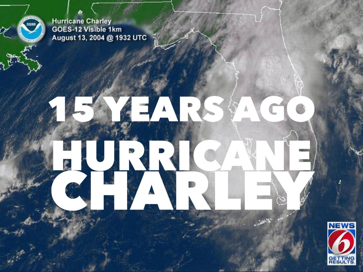 @news6wkmg's photo on Hurricane Charley