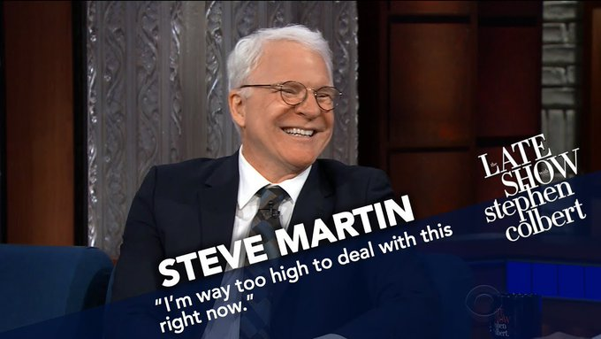 "August 14:Happy 74th birthday to actor,Steve Martin(""The Jerk\"")"