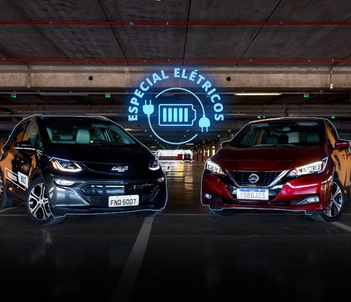O quanto roda, onde recarregar, custo... como é o dia a dia com carros elétricos; o @g1carros testou Nissan Leaf e Chevrolet Bolt em SP: https://glo.bo/31CSD5E #G1 #AutoEsporte