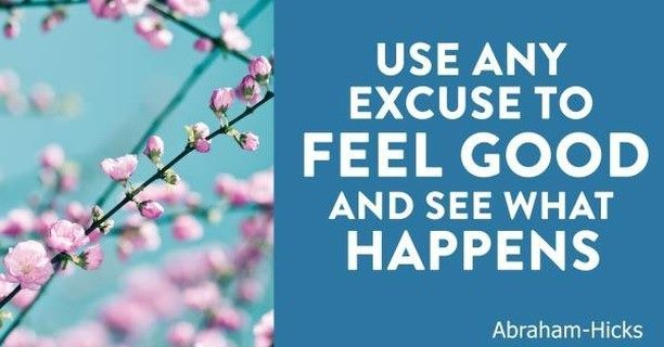 It's so simple and easy- Just feel good. And you can do that by imagining, or remembering or thinking positive thoughts, thoughts that make you feel good. Go ahead, You can do it :-) #abrahamhicks #deliberatecreation #lawofattraction <br>http://pic.twitter.com/oGLB6g2aqx