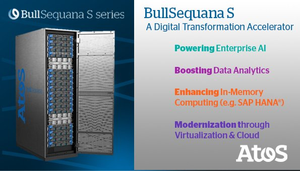 With dynamic reconfiguration capabilities, the BullSequana S series of high-end #servers is...