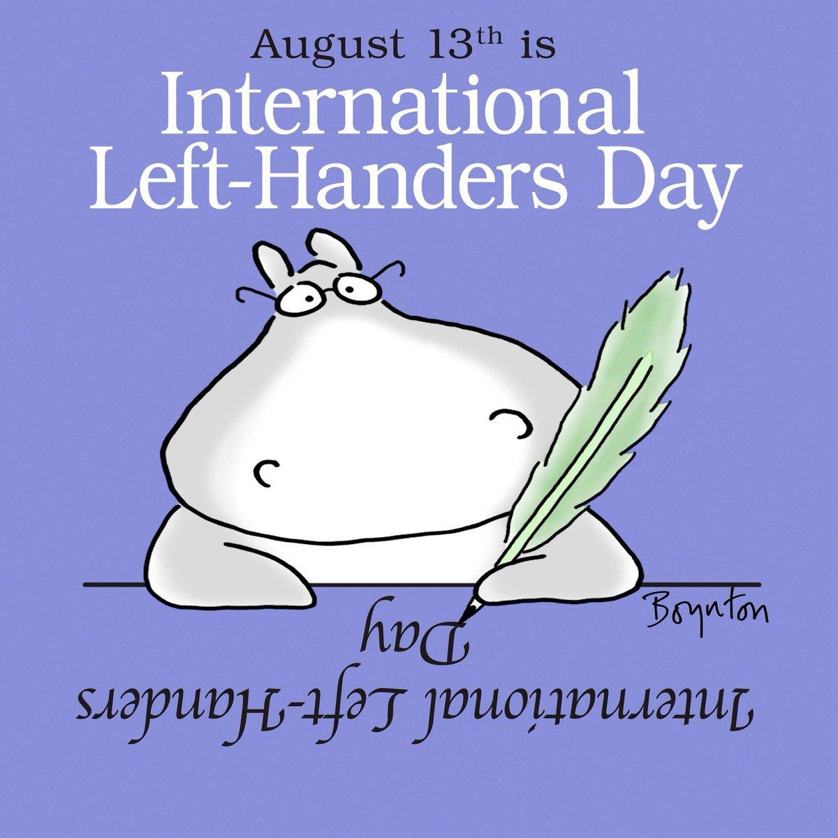 Happy Left Handers Day! #WeLeadTX #KidsDeserveIt