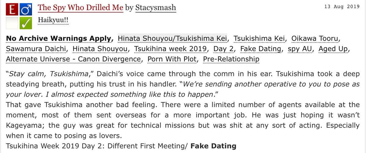 Fake Dating