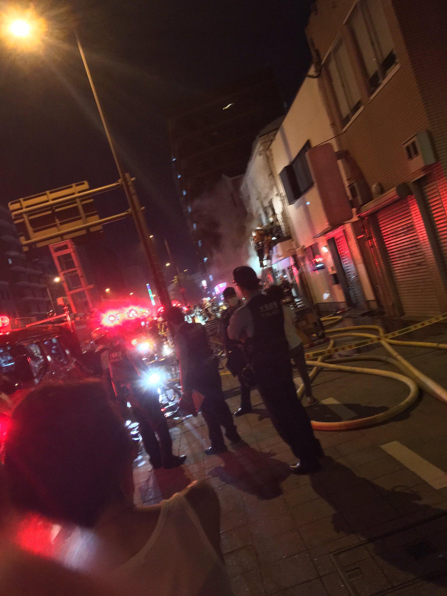 画像,海老江駅付近火事で混乱しています。通らない方がいいかも https://t.co/1OlW3uVij9。