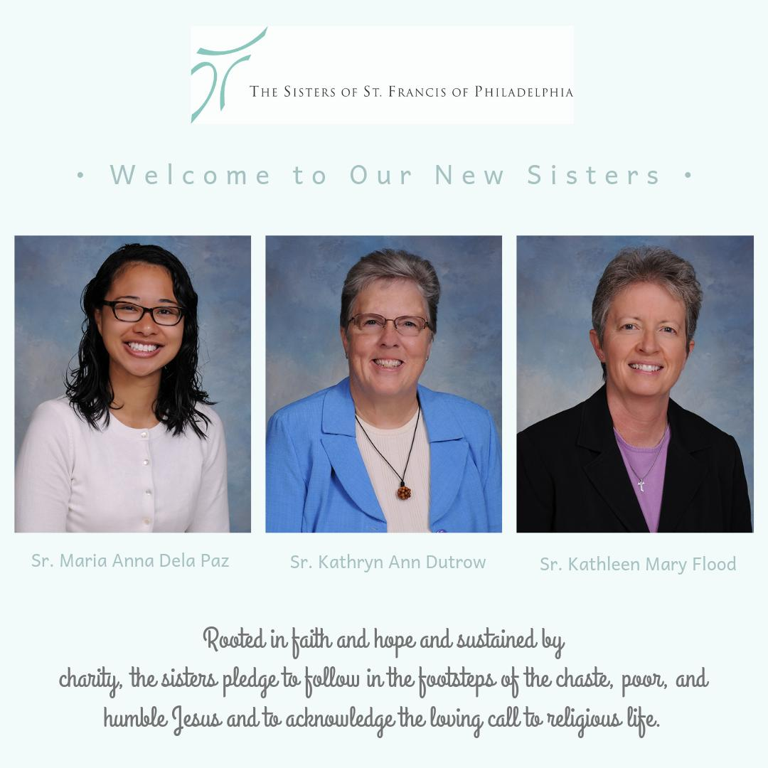 test Twitter Media - This weekend was an exciting one for the Sisters of St. Francis of Philadelphia as we celebrated the profession of vows and welcomed three women into the congregation—Srs. Maria Anna Dela Paz, Kathryn Ann Dutrow, and Sister Kathleen Mary Flood. Read more: https://t.co/1pzAN05U62 https://t.co/erloGLtwT4