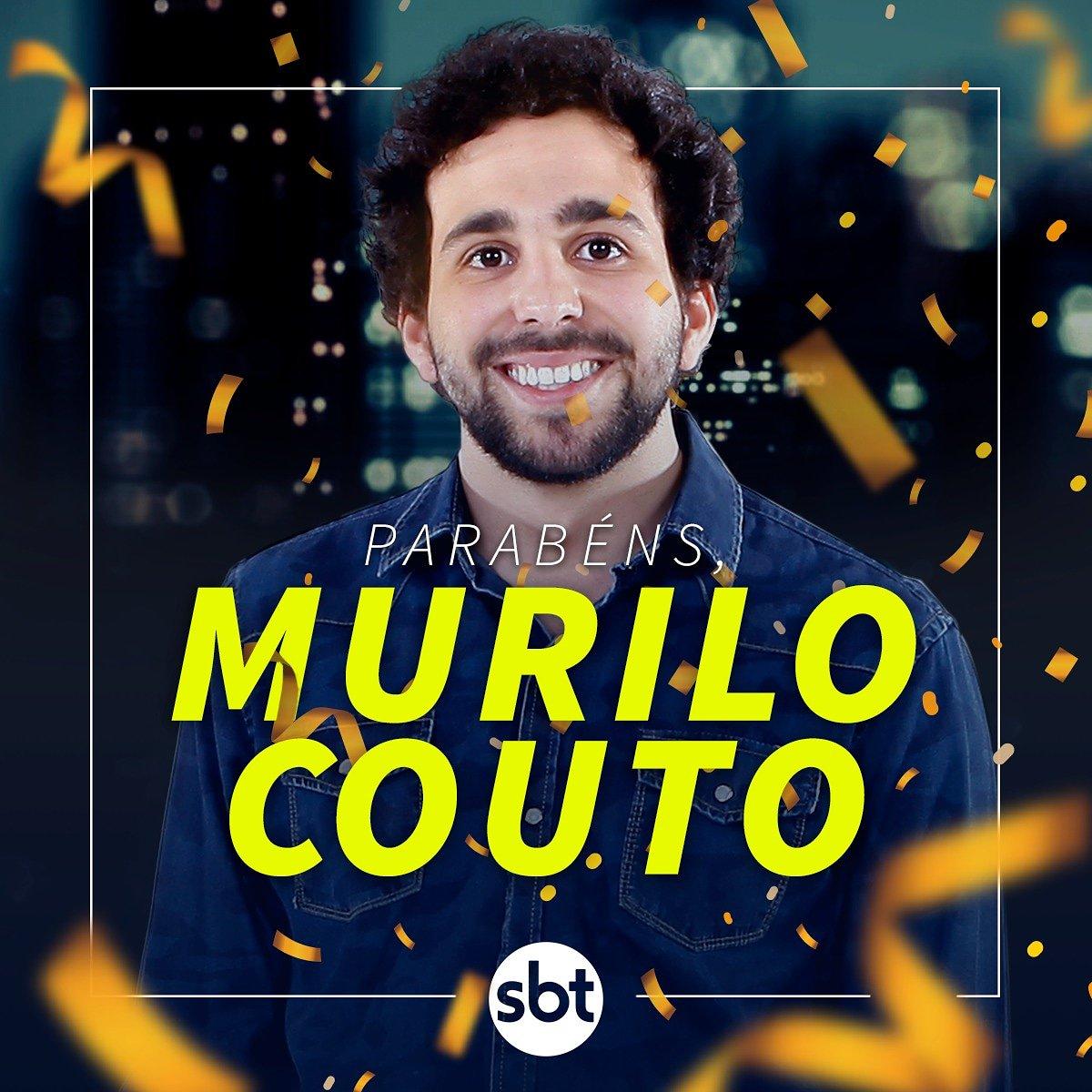 Hoje é dia dele que é Coach, repórter, rapper, dançarino e acha que é engraçado! Parabéns, @murilocouto!! #thenoitecomdanilogentili