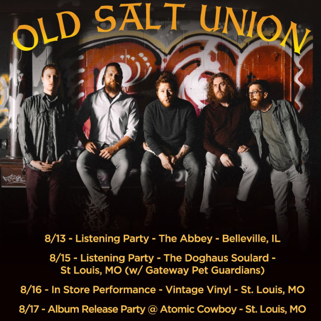Where The Dogs Dont Bite will be out in all its glory on Friday! This week We have a few listening parties, Record shop performances and a Release show! PRE ORDER: oldsaltunion.com TICKETS: bit.ly/DogsDontBiteSh…