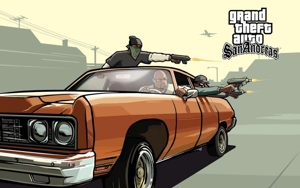 Since GTA San Andreas is trending, RT if you've played it! #GTASanAndreas<br>http://pic.twitter.com/o2jeKtM29A