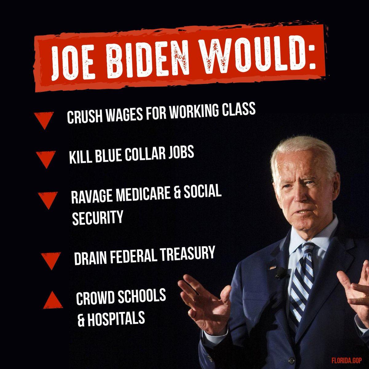 .@JoeBiden vowed to nearly triple immigration if elected. Enough is enough, we must put Americans first.