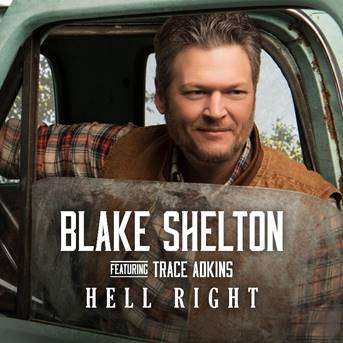 New music coming! Trace Adkins will be featured on @blakeshelton's new single #HellRight - debuting this Friday!<br>http://pic.twitter.com/CaaBbBm9GQ