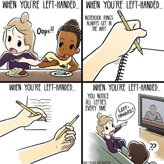 Proud to be a lefty! #LeftHandersDay <br>http://pic.twitter.com/wSeg7fNwft