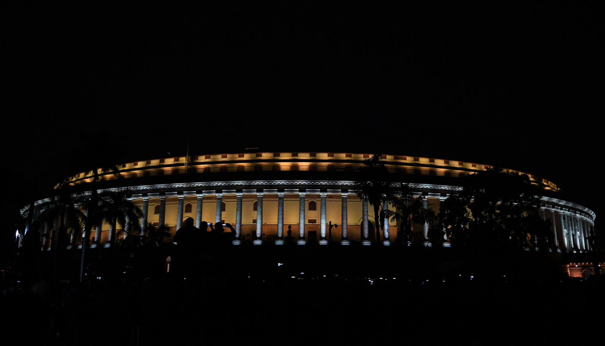 Browse and download photos/videos added by @narendramodi India's Parliament is all lit up, thanks to the lighting facility inaugurated today.   Have a look at these pictures. | Hitweer.com