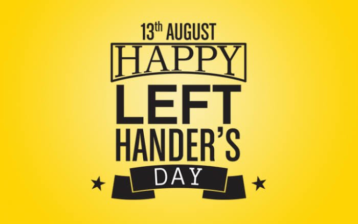 Left handed pple are quite a rare & unique breed. There are just 750million of us left in the world. We are creative, have high IQs & multitasking skills. From a medical standpoint, we are the only ones in our 'right' minds.  Celebrate a left-handed person today. #LeftHandersDay <br>http://pic.twitter.com/VjB9AmMC1N