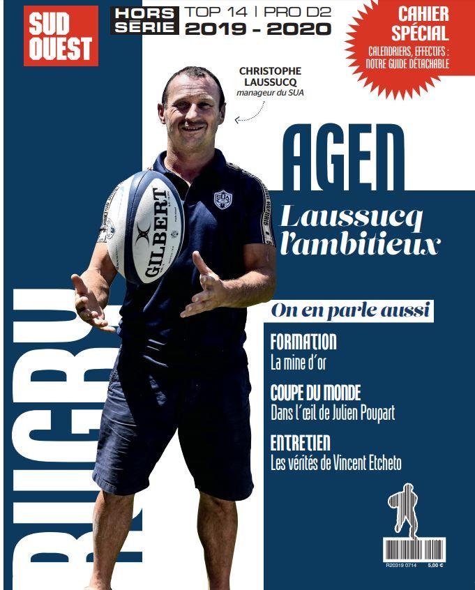 SU Agen : le hors-série 100 % rugby en kiosque ce mardi https://www.sudouest.fr/2019/08/13/su-agen-le-hors-serie-100-rugby-en-kiosque-ce-mardi-6441505-3603.php…