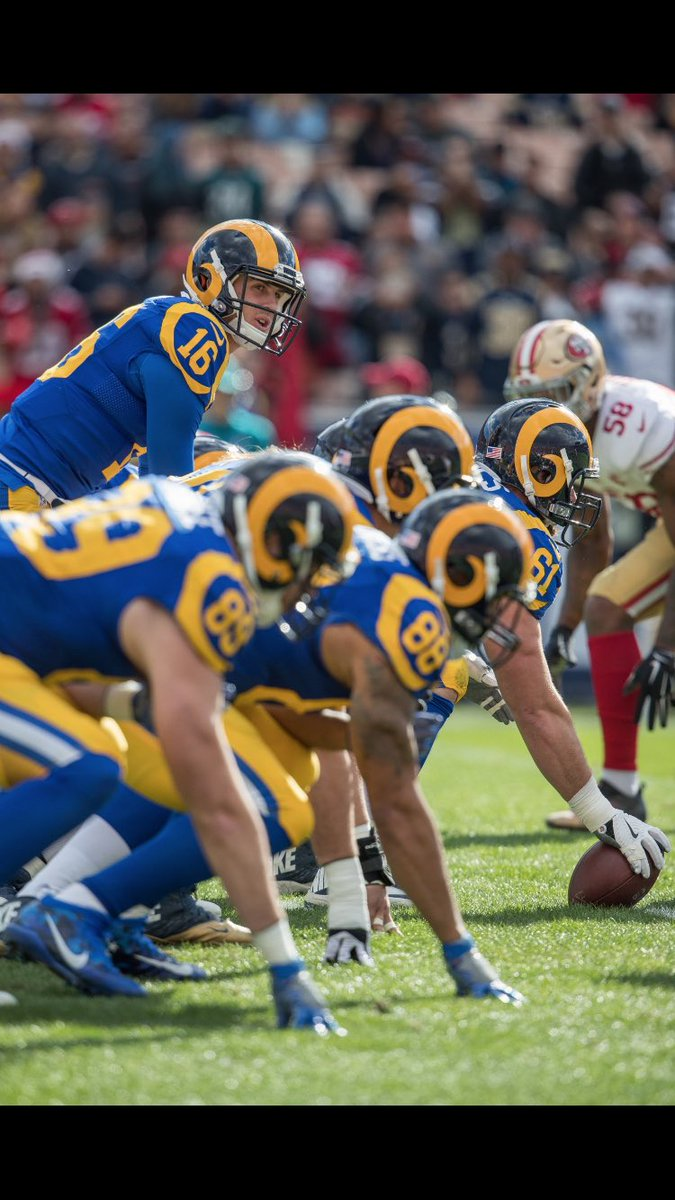 @RamsNFL Please consider our throwback uniforms 💙💛 for our Week 6 game vs SF. This game at home should be in 💙💛 as it is our last in the Coliseum vs SF. only fitting. This is what the fans want. @Blueblood_Rams @Randytroy1 @CVRamsClub @FrancoElTanko @WillramWallace