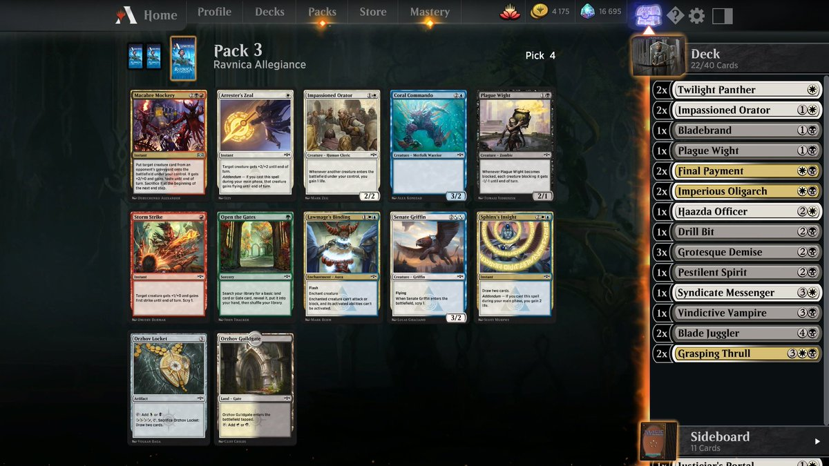 Gymvested Gymvested Twitter Mtg arena cards details, draft and constructed evaluation. twitter