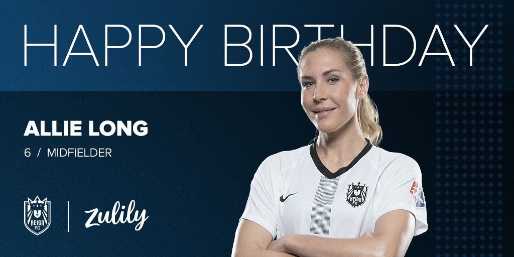 Happy birthday from and all of us at Reign FC.