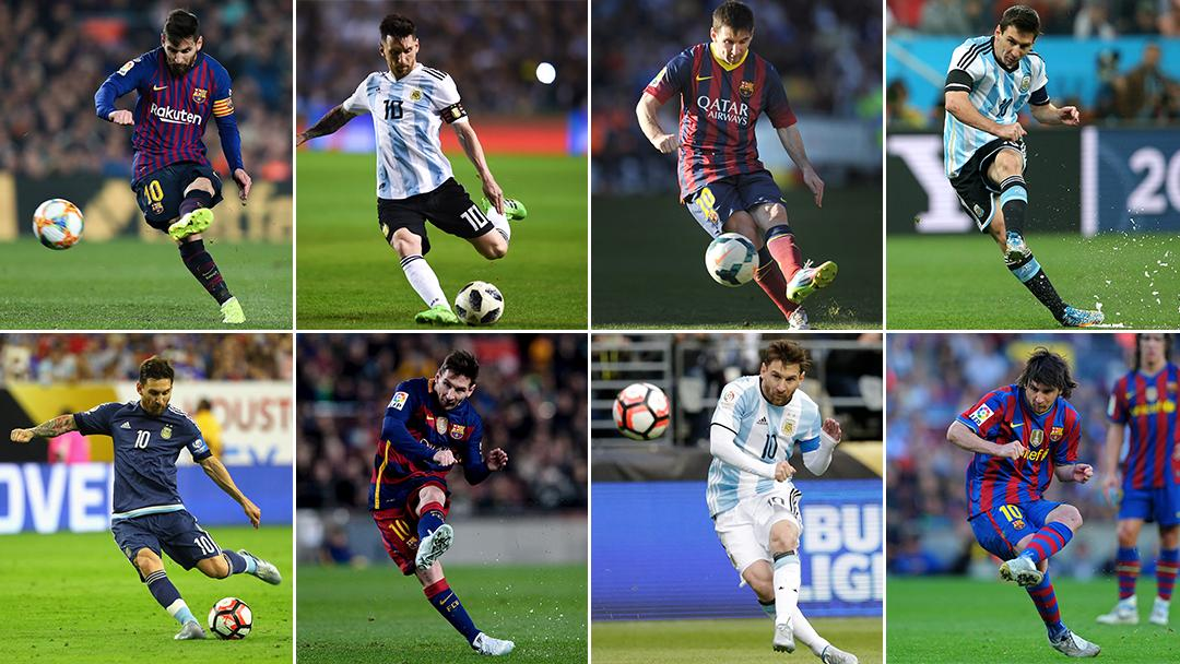 It's #LeftHandersDay, but we're using today to honor Messi's lethal left foot  <br>http://pic.twitter.com/fGlGwFG57g