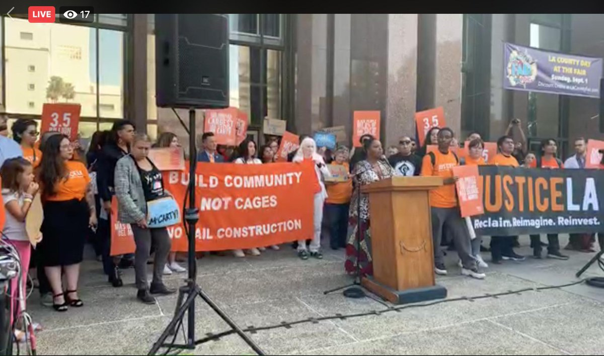 CLICK HERE to watch live! #CancelMcCarthyContract Press conference! facebook.com/JusticeLANow/v…
