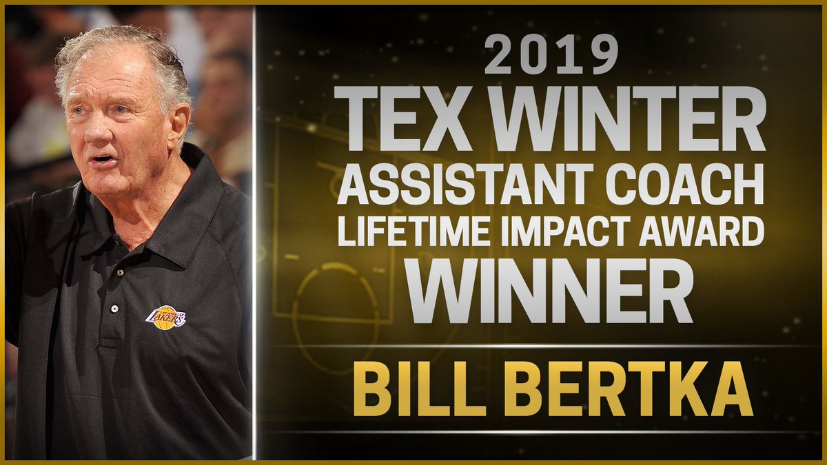 Bill Bertka has spent 45 of his 50 years coaching with the @Lakers. During this year's @nbasummerleague Coach Bertka was honored with the Tex Winter Assistant Coach Lifetime Impact Award and we had the opportunity to sit down & discuss what this award means to him.