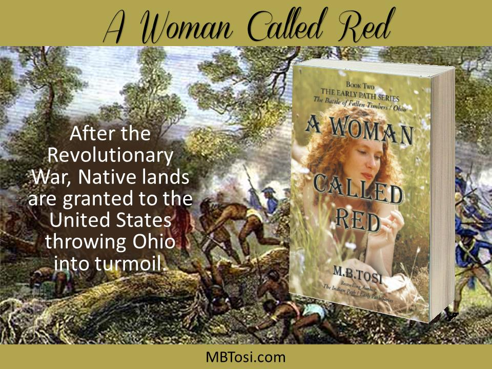 Set in Ohio of the 1790s, this post Revolutionary War novel is alive with adventure, history & romance.
