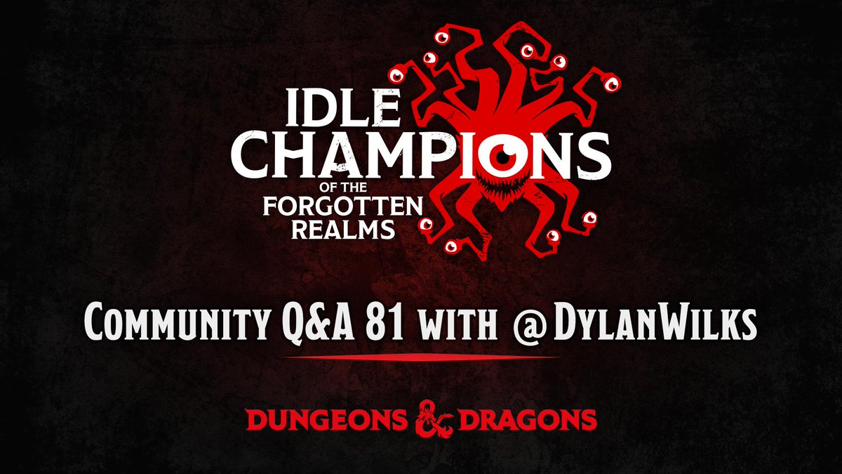 Idle Champions on Twitter: