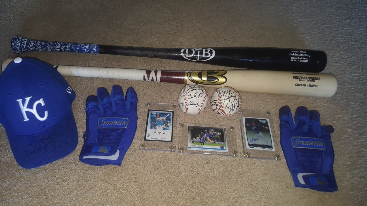 I guess this is what happens when the @OMAStormChasers love your kiddos for coming out and supporting them this season! Blown away by the generosity of @Brett_Phillips8 @kelvin_Gutiz Bubba Starling @cheslorcuthbert @ChasersGM and the rest of the team! #stirupthestorm<br>http://pic.twitter.com/w8WYewon94