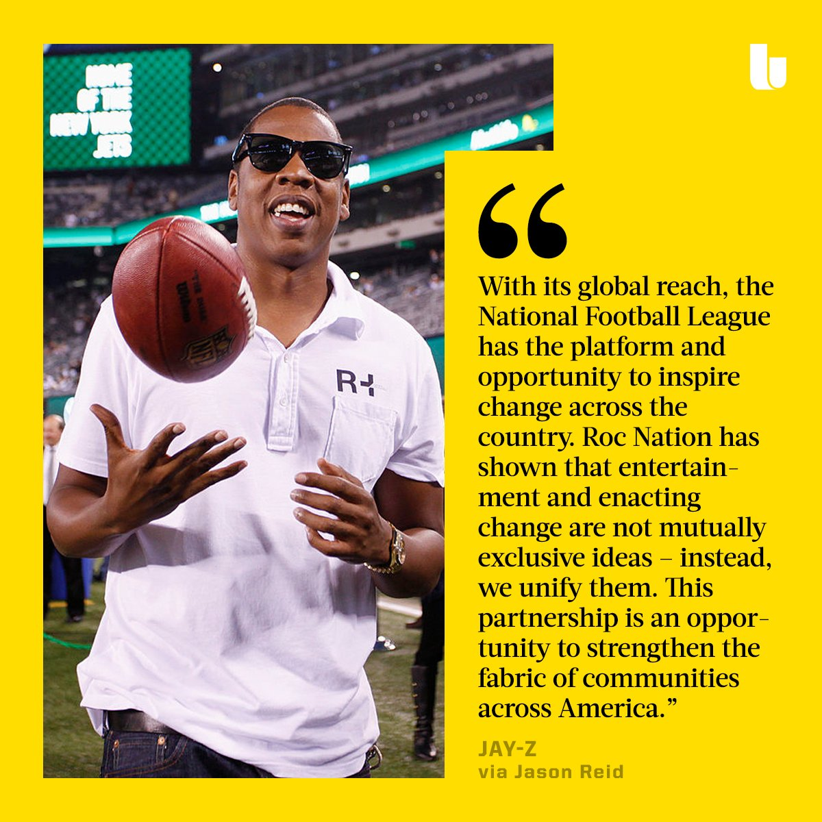 The NFL and Roc Nation have agreed to a long-term partnership.The entertainment company will advise on the selection of artists for NFL tentpole events, including the Super Bowl, as well as play a key role in the production and promotion of new music: https://www.espn.com/nfl/story/_/id/27380099/roc-nation-lead-nfl-entertainment-endeavors…