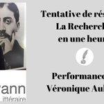 Image for the Tweet beginning: #Proust : Laissez-vous raconter #LaRecherche