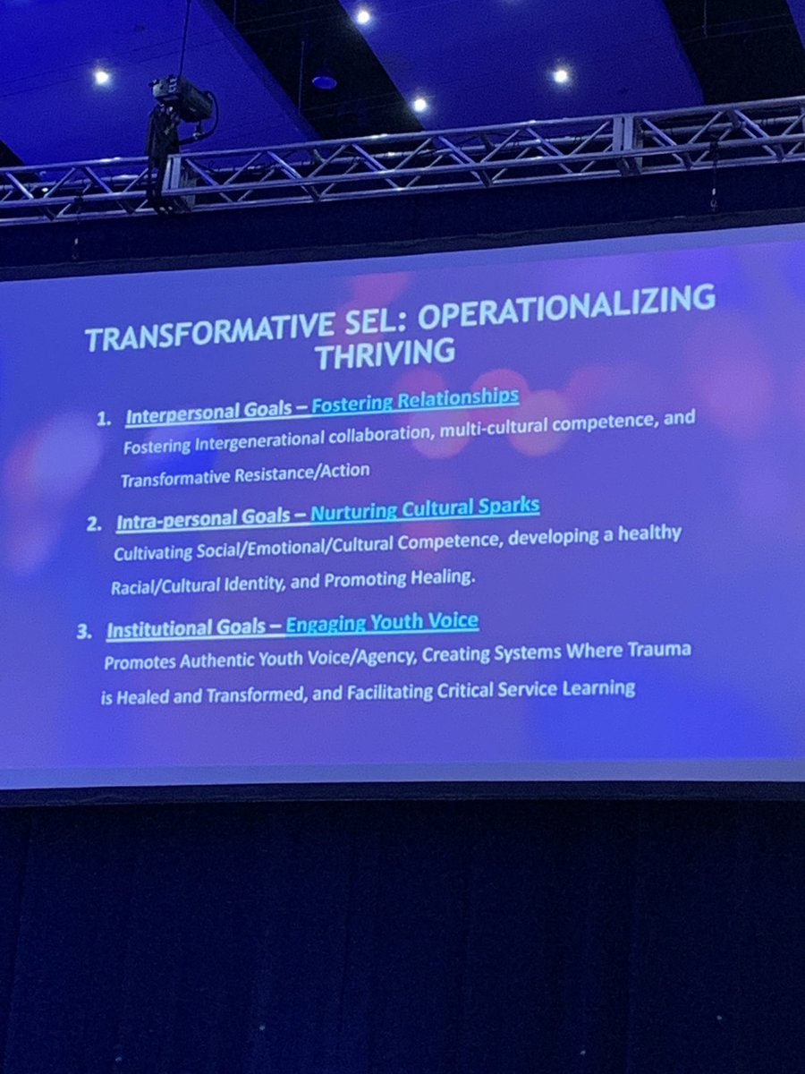 How do we operationalize THRIVING SEL? #plaea