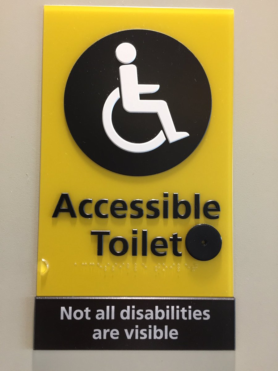 not all disabilities are visible - HD900×1200