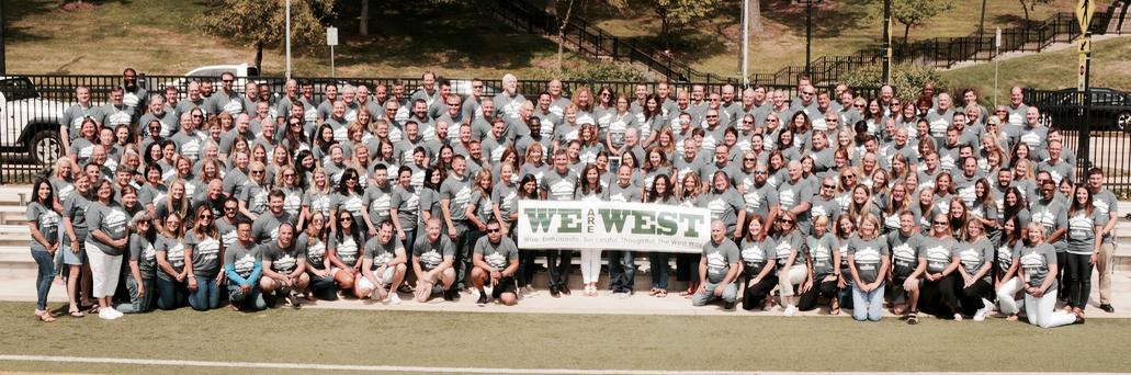 Glenbard West Teachers and Staff are ready for you! Go West!