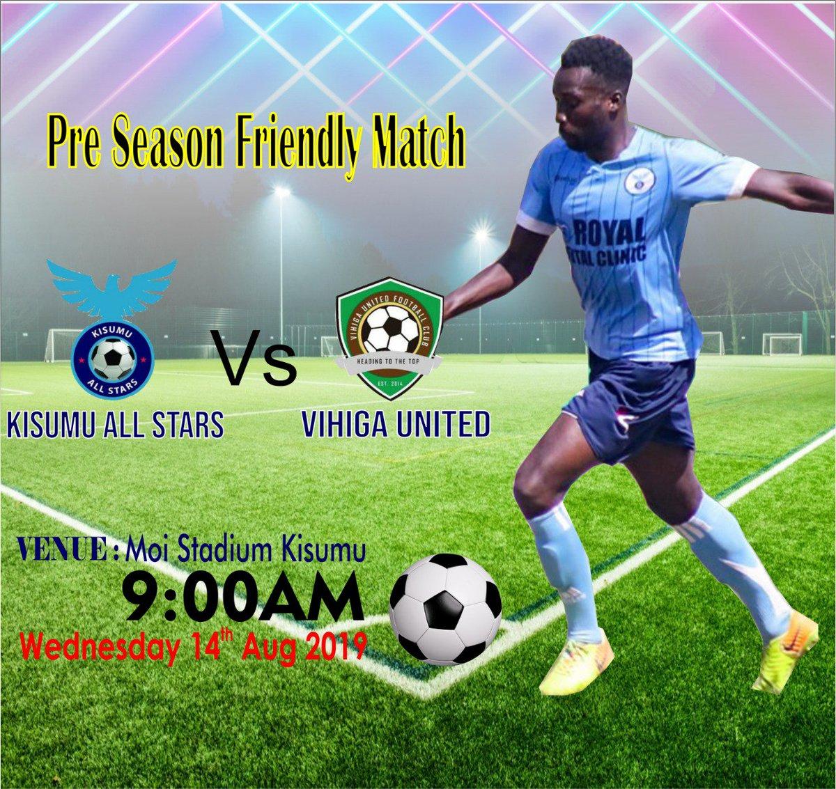 Plot for tomorrow. @KisumuAllstars vs @VihigaUnitedFC Moi Stadium. #Otenga