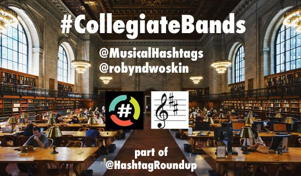 Let's play #CollegiateBands  Hosted by @robyndwoskin part of @HashtagRoundup<br>http://pic.twitter.com/ThSJQKzpu4