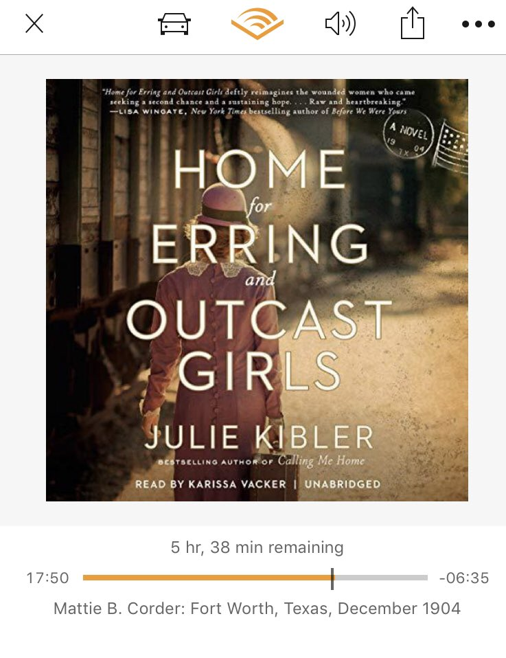 @audible_com Home for Erring and Outcast Girls by @juliekibler narrated by @KarissaVacker