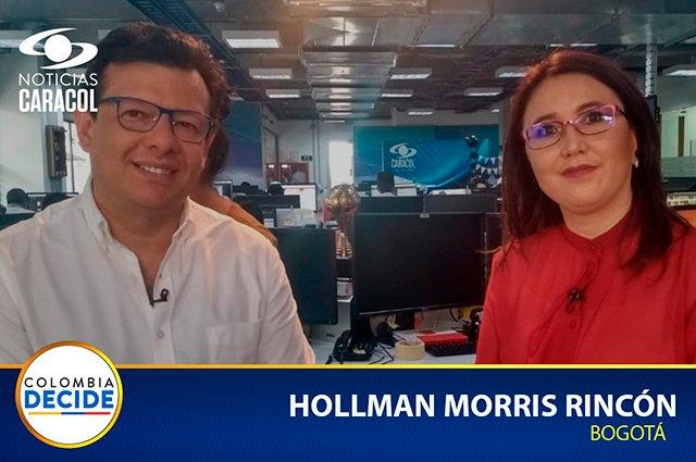 En @NoticiasCaracol los candidatos presentan sus propuestas. Reviva el debate con Hollman Morris (@HOLLMANMORRIS) en >> https://buff.ly/2Z2DdKq#BogotáDecide #ColombiaDecide