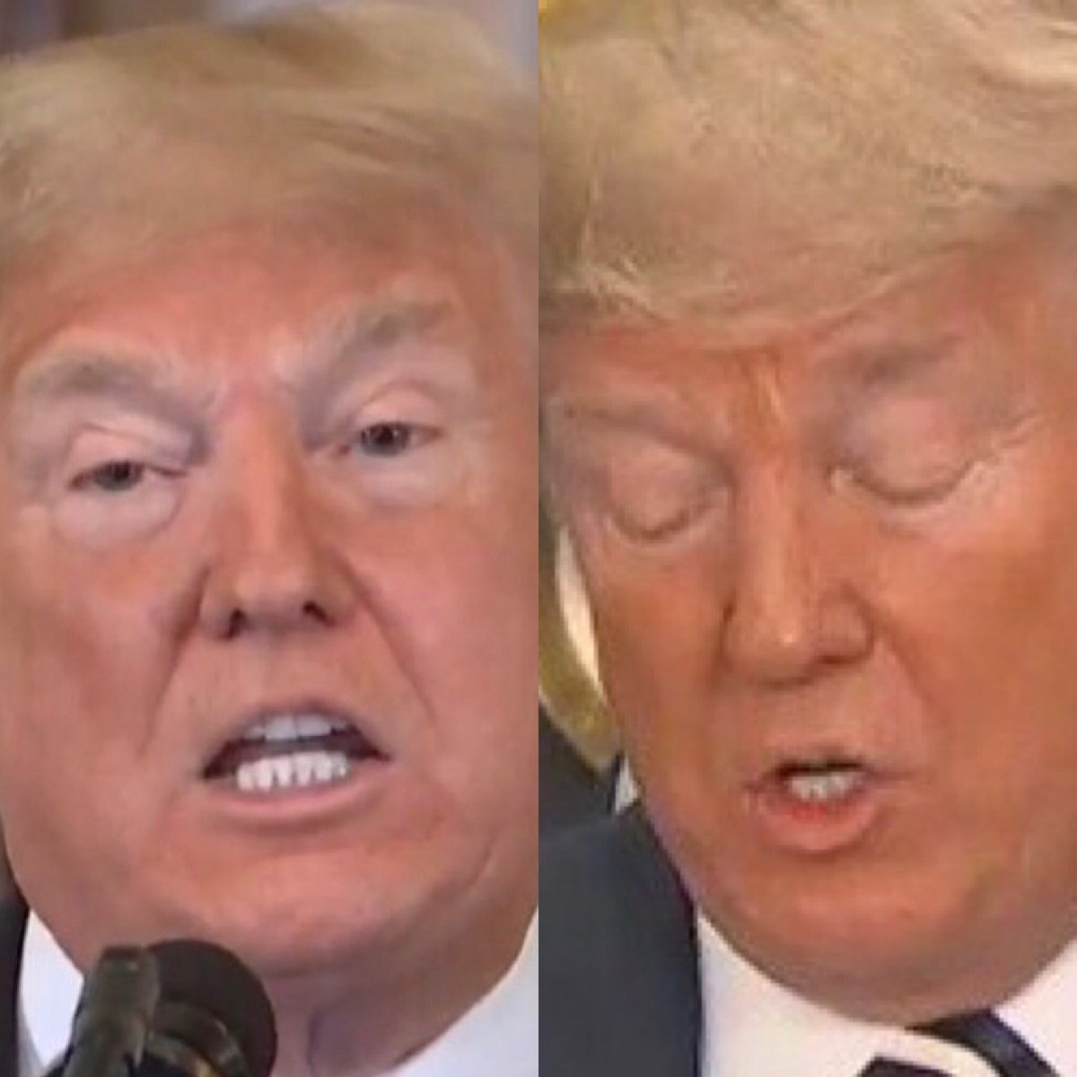 #TrumpIsAWhiteSupremacist and he's the worst kind - a white suoremacist who spray-tans to appear less white. <br>http://pic.twitter.com/hgto6IH8bY
