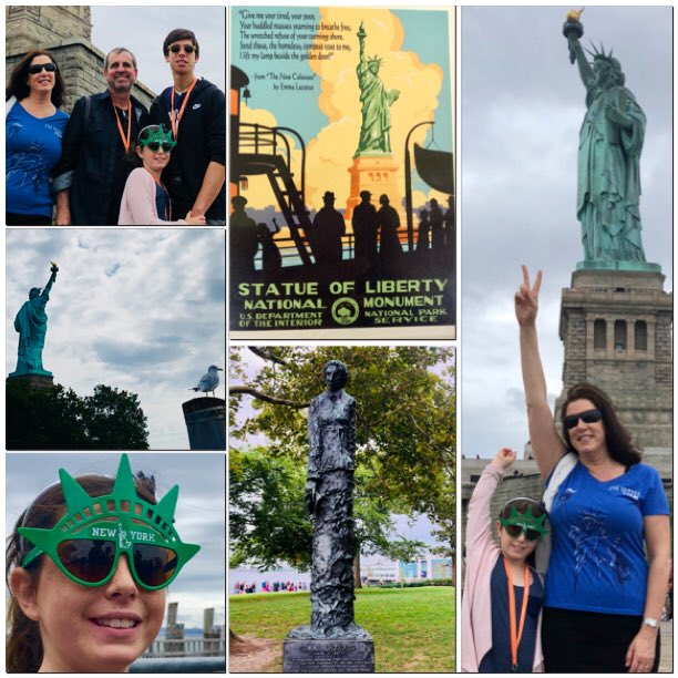 Hi @USCISCuccinelli Emma Lazarus' poem was a fundraiser for the #StatueOfLiberty.  At that time, Ellis Island took in immigrants from Europe like your and my Italian forebears — and from Armenia, Russia, Syria, and Turkey. Perhaps you (too) could visit and learn.<br>http://pic.twitter.com/2DNC416dHC