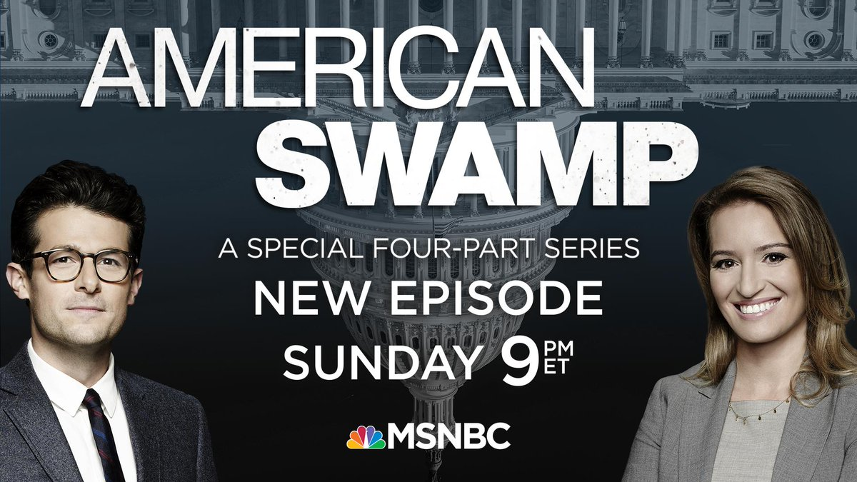 In the series finale of American Swamp, @KatyTurNBC and @JacobSoboroff dig into Washington's inability to fix America's crumbling infrastructure. Watch this Sunday at 9 p.m. ET on @MSNBC.