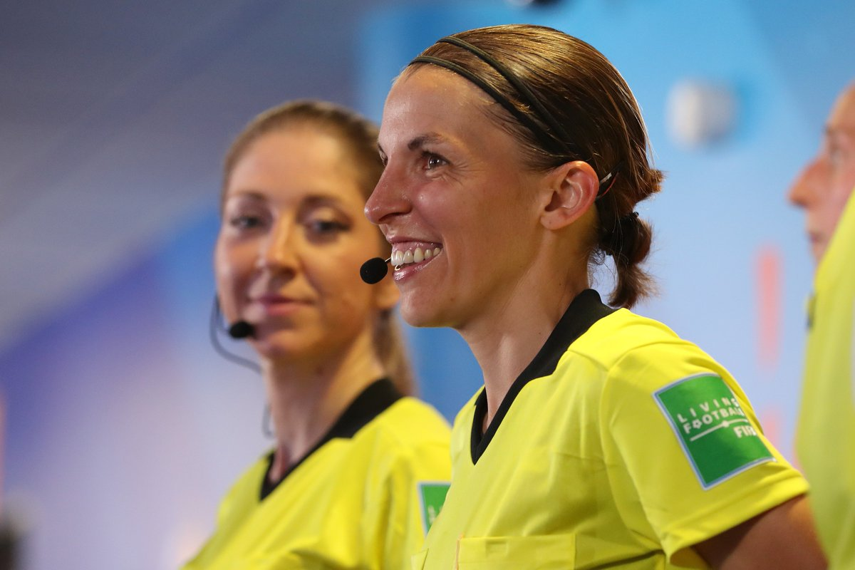 #FIFAWWC Final referee Stephanie Frappart is ready to make history tomorrow, where she will be the first female lead official in a major mens European game. I don't think there's a lot of difference, because football is the same. We are not afraid about this game. #SuperCup