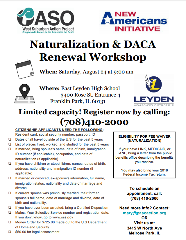 #leydenpride is hosting a Naturalization and DACA renewal Workshop with PASO. Please share! <br>http://pic.twitter.com/LZy43ZEspr