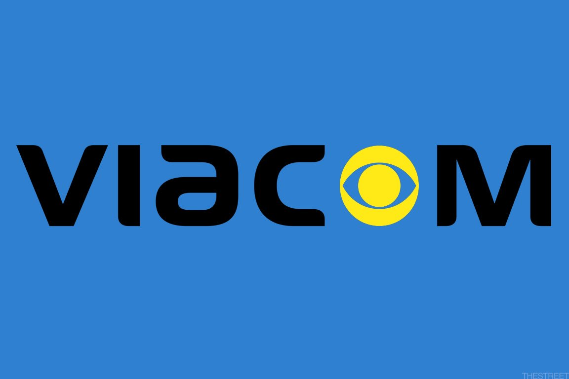 """I would have liked it better if it was just called Viacom and it had the """"o"""" replaced with the CBS eye logo. Does anyone else agree? <br>http://pic.twitter.com/mZFk9RULmP"""