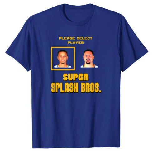 The #warriors are once again built around the best 3-point-shooting combo in NBA history: https://www.amazon.com/Super-Splash-Brothers-video-T-shirt/dp/B07S9X29ZD…  #SplashBrothers #nba #stephencurry #klaythompson #splashbros #mariobros #stephcurry #goldenstatewarriors #dubnation #mvp #nbafreeagency #nbasummerleague