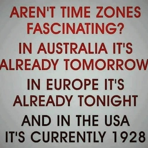 #ThingsSocialMediaHasTaughtMe  The difference in time zones <br>http://pic.twitter.com/xojOoitnsZ