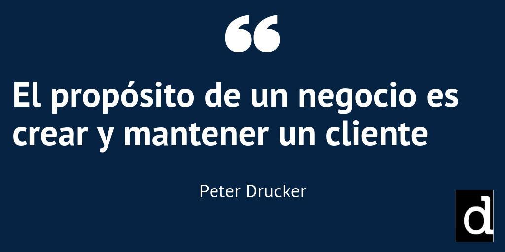 Peter Drucker Corporación Moderna Opinas Frase Peter