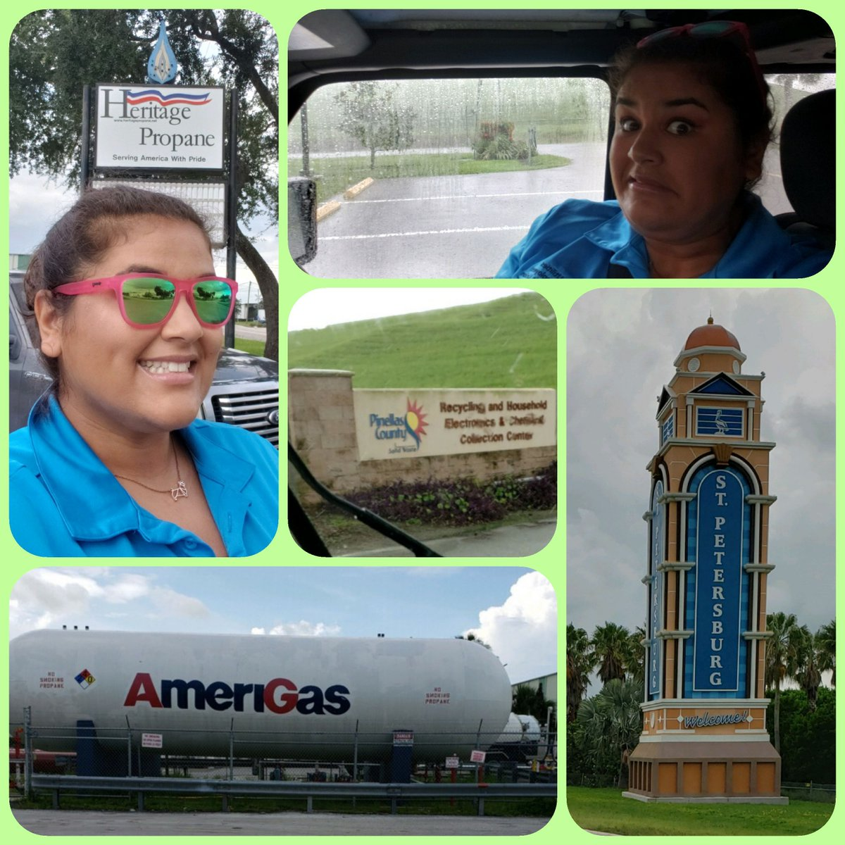 Paula brought her own sunshine to @amerigas_propane, @advdisposal and more today in #Florida, and she'll catch up with @duke_energy friends tomorrow! Your coworkers deserve a UECU visit! Check it out: https://t.co/TChZFSAuXV  #rain #bringit #UECUhappy #UECUeverywhere #TravelLife https://t.co/PH1JZUvqKM